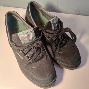 Mephisto Runoff women's suede sneakers